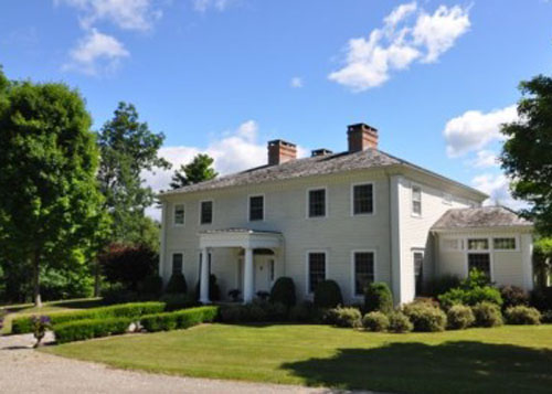 Classic Greek Revival for sale in Millbrook is listed by